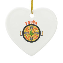 Paella Ceramic Ornament