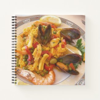 Paella Food Notebook