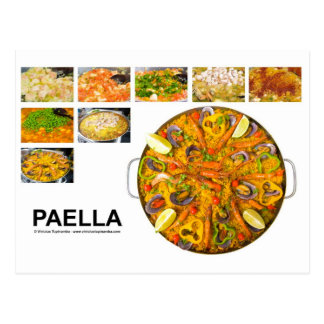 paella postcard
