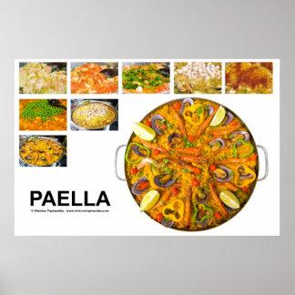paella poster
