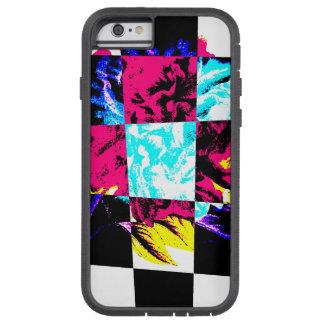 Paeonia abstracto que pinta el caso duro funda tough xtreme iPhone 6