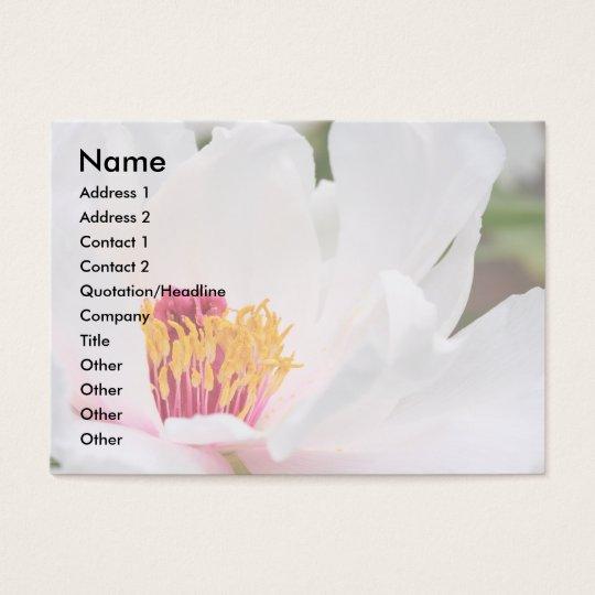 Paeony Business Card