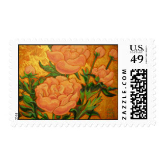 Paeony (Paeonia) Stamps