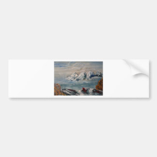 paesaggio jpg pegatina de parachoque