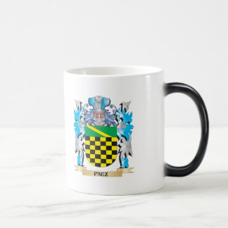 Paez Coat of Arms - Family Crest 11 Oz Magic Heat Color-Changing Coffee Mug