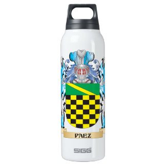 Paez Coat of Arms - Family Crest 16 Oz Insulated SIGG Thermos Water Bottle