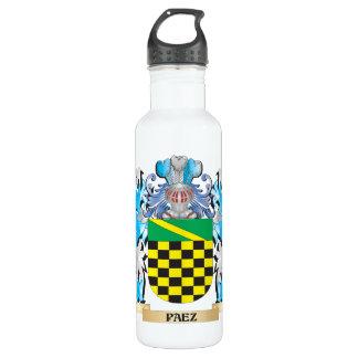 Paez Coat of Arms - Family Crest 24oz Water Bottle