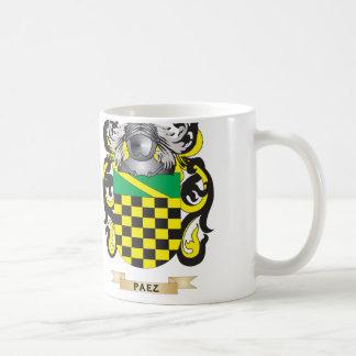 Paez Coat of Arms (Family Crest) Classic White Coffee Mug