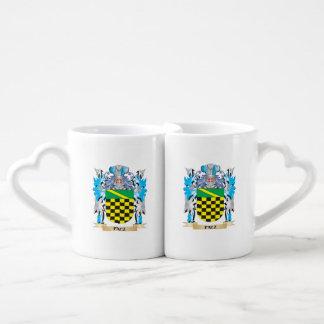 Paez Coat of Arms - Family Crest Couples' Coffee Mug Set