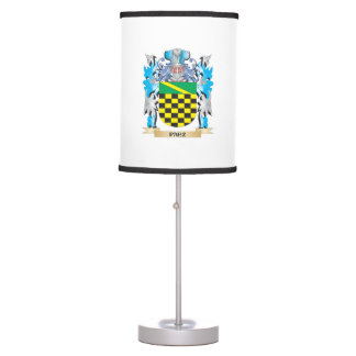 Paez Coat of Arms - Family Crest Table Lamps