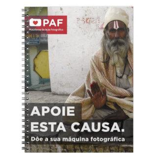 PAF blank Notebook