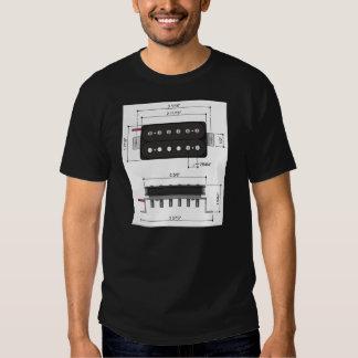 PAF Humbucking pickup Tee Shirt