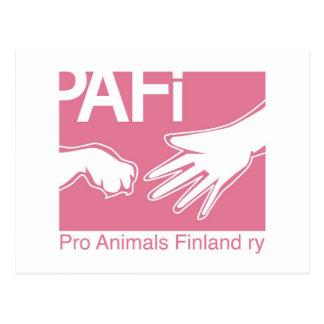 PAFi Logo postcard