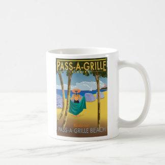 PAG BEACH POSTER COFFEE MUG