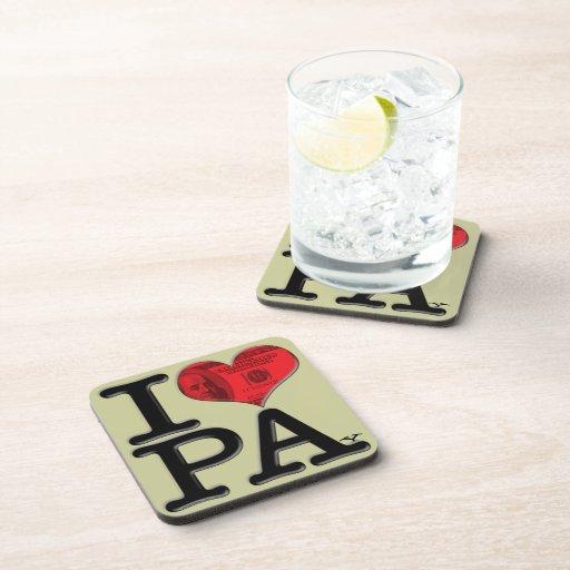 Paga I (del corazón) Posavasos De Bebidas