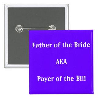 Pagador de Bill - botón Pin