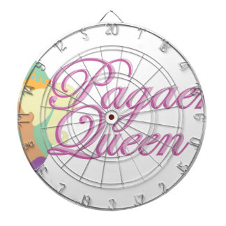 Pagaent Queen Dartboard
