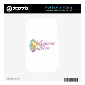 Pagaent Queen iPod Touch 4G Skin
