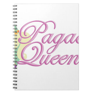 Pagaent Queen Spiral Notebook