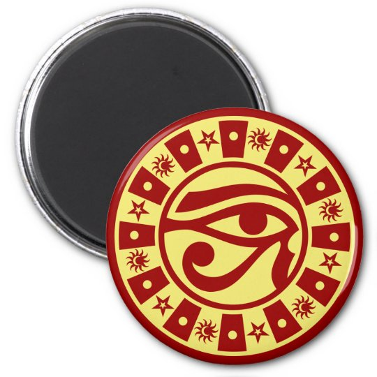 Pagan Ancient Egyptian Eye of Horus Occult Symbol Magnet