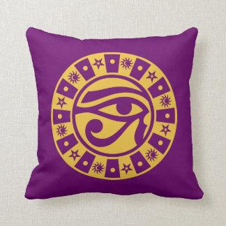 Pagan Ancient Egyptian Eye of Horus Occult Symbol Pillows