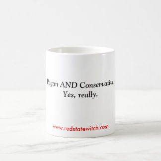 Pagan AND Conservative.Yes, really. Classic White Coffee Mug