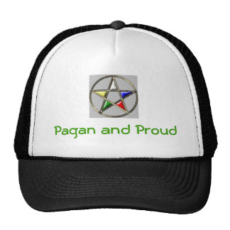 Pagan and Proud Trucker Hat