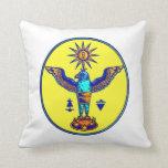 pagan azteca design.png de los símbolos del sol de almohadas