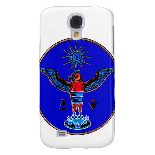 pagan azul azteca design.pn de los símbolos del so