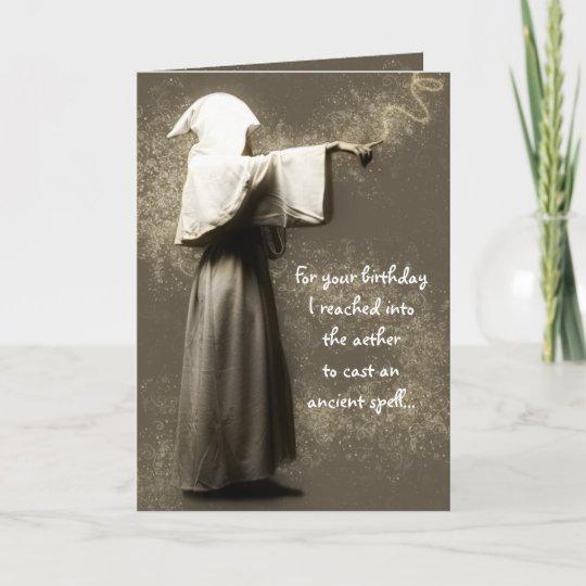 Pagan Birthday Card Zazzle