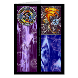 Pagan Bookmarks Card
