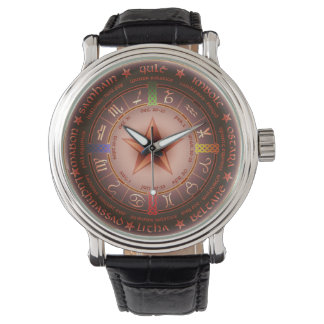 pagan calendar wristwatch