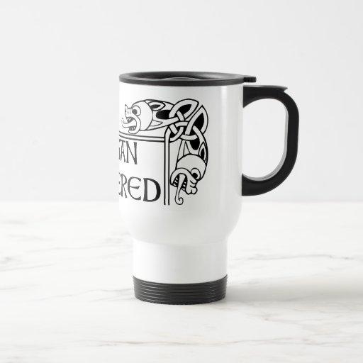 Pagan céltico accionado taza de viaje de acero inoxidable
