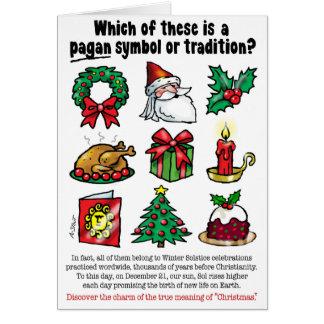 PAGAN CHRISTMAS CARD