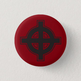 Pagan Cross Button