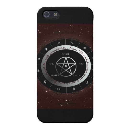 Pagan Elements wheel Cover For iPhone SE/5/5s