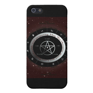 Pagan Elements wheel iPhone 5/5S Cover