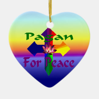 Pagan For Peace Ornament