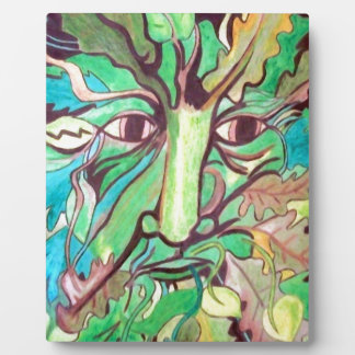 Pagan Greenman Plaque