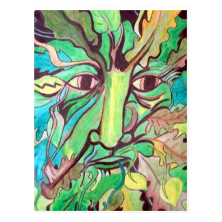 Pagan Greenman Postcard