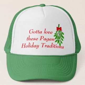 Pagan Holiday Traditions. Trucker Hat