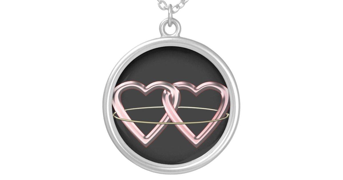 Pagan Marriage Symbol Silver Plated Necklace Zazzle