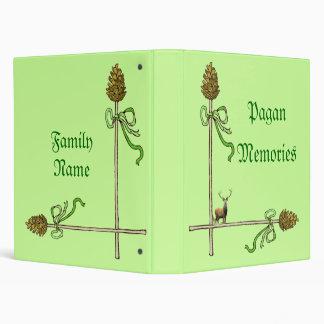 Pagan Memory Book Binder
