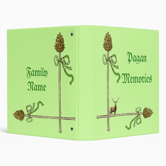 Pagan Memory Book Binder