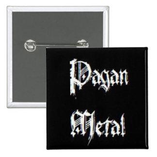 Pagan Metal 2 Inch Square Button