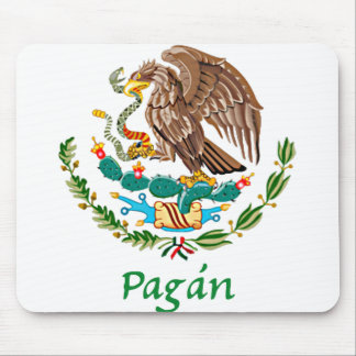 Pagán Mexican National Seal Mouse Pad
