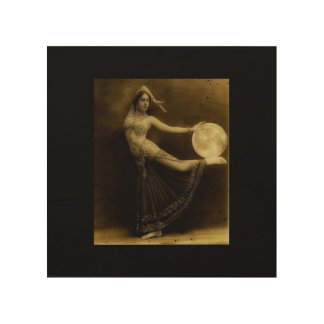 Pagan Moon Dancer Wood Wall Art
