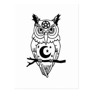 Pagan Owl Postcard