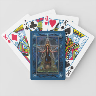 Pagan Playing Cards - Spellweaver Witch - Blue
