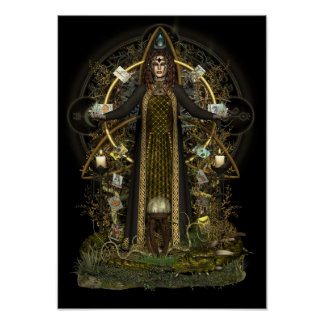 Pagan Poster - Witch of the Tarot [A3]